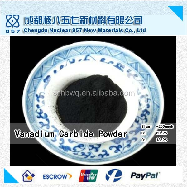 China competitive price Factory-outlet vc metal powder Vanadium carbide powder