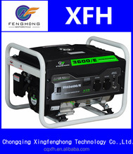 Good Quality home use silent key start 3KW gasoline generator