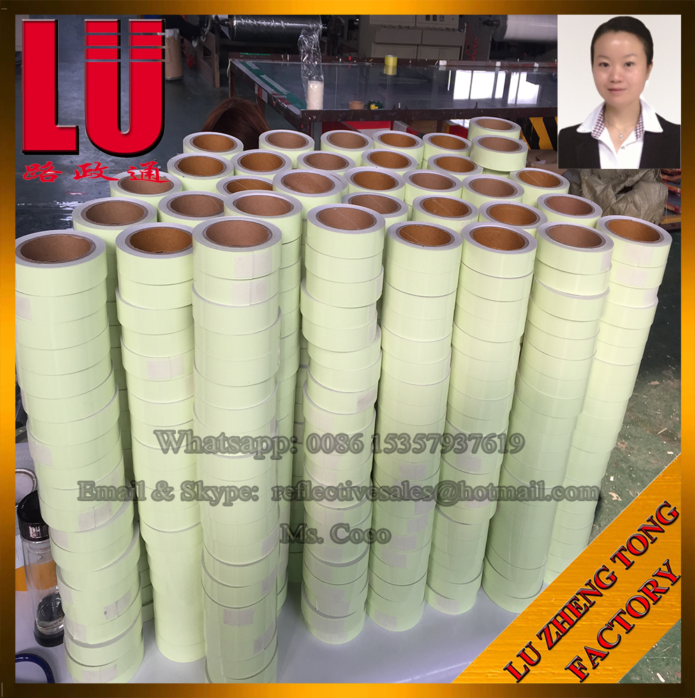 Photoluminescent Luminous Film Adhesive Paper