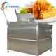 French Fries Fryer Machine For Spiral Potato Gas