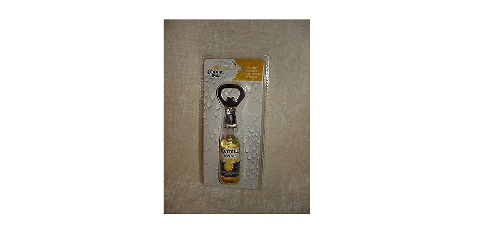 c174893f90f Get Quotations · Corona Extra Bottle Opener Replica Bottle with Liquid    Floating Lime - Officially Licensed