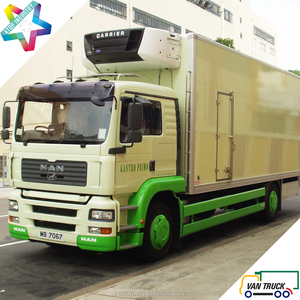 heavy duty reefer truck 8.5m multi-temperature refrigerated truck body