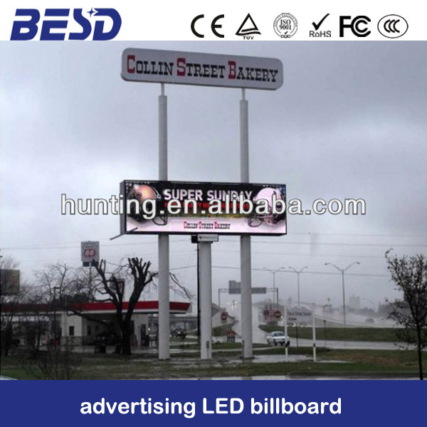 Outdoor advertising walking Led billboard LED sign