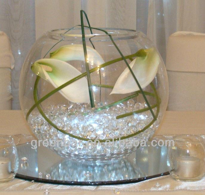 glas vase deko mit perlen f r die hochzeit planer kristallerde produkt id 722425016 german. Black Bedroom Furniture Sets. Home Design Ideas