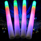 Custom Logo led blinking light electric foam glow stick