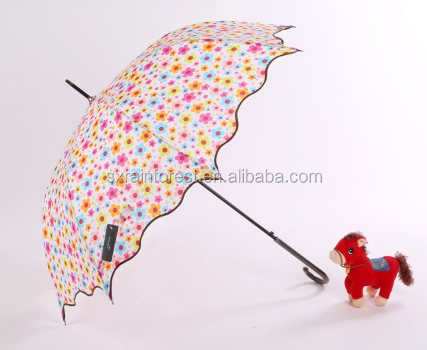 23 inches automatic rain straight umbrella