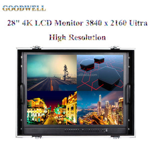 "Carry-On 28"" 4K LCD Monitor 3840x2160 Ultra High Resolution for Professional Broadcasting"