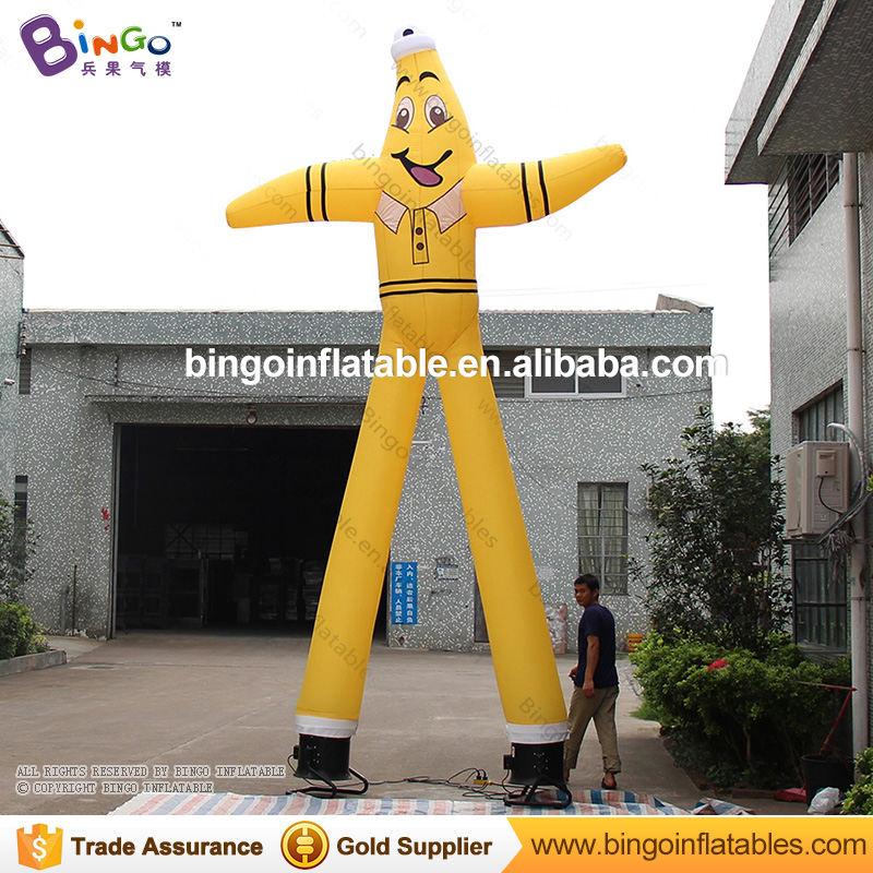 Top quality inflatable sky dancing man air dancer blower