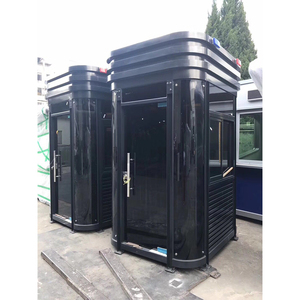 Prefabricated luxury prefab used portable public toilets for sale Guard tiny foldable house / Sentry box / security booth