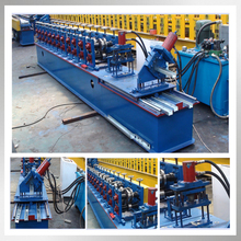 China hot sale c purlin flying saw cold roll forming machine
