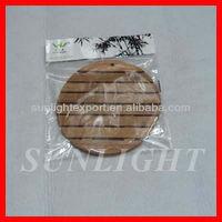Bamboo placemat/bamboo tablemat/bamboo dining table mat