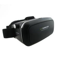 VR Shinecon VR Virtual Reality Real 3D Glasses Helmet Google Cardboard Oculus Rift DK2 for iPhone Samsung 4.7 -6 inch Smartphone