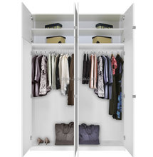 Lowes white wardrobe with lacquer door