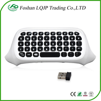 2.4G Wireless MINI Keyboard Chatpad Message for Xbox One S Slim Controller keyboard White