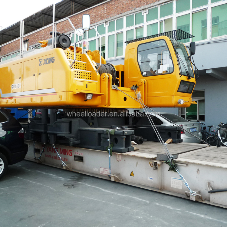 China Hydraulic Crawler Crane 85 Ton