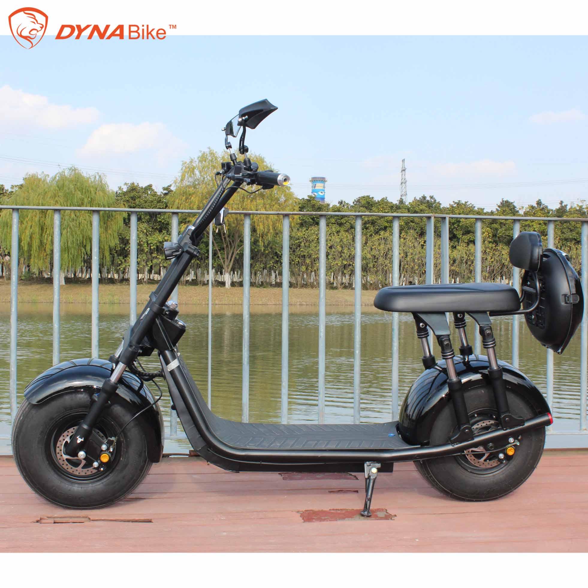 2000 Вт 21,8 Ач батарея ЕС одобрено EEC и COC Электрический мотоцикл citycoco скутер