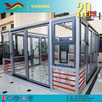 Yhalu Swd 2016 Hot Sale Interior Exterior Office Door With Glass Opening Window Buy Office