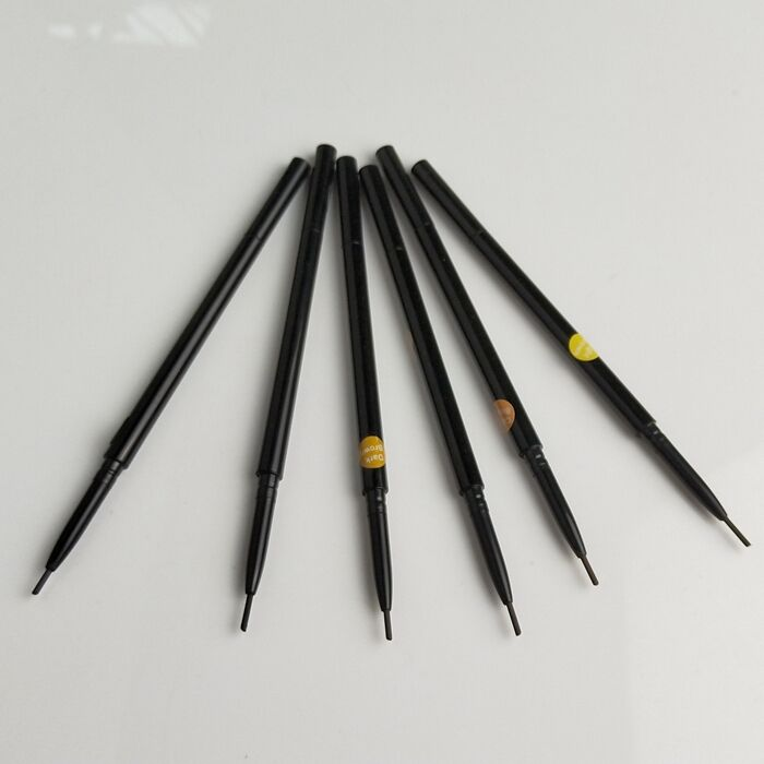 Wholesale waterproof makeup eye pencil automatic eyebrow pencil