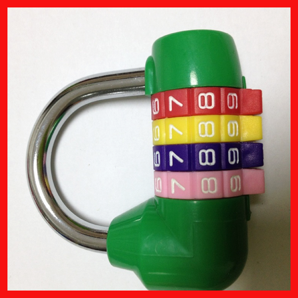 Luggage combination lock password number lock