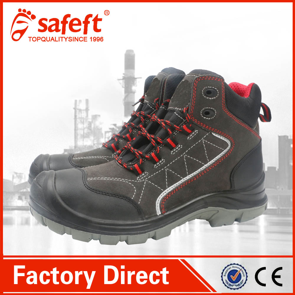 Good price mining acid resistant construction american safety shoes