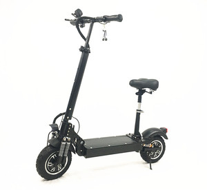 Manufactory wholesale Best Price Good Quality Electrical Scooter with Seat Foldable 52v 2400W electric Scooters