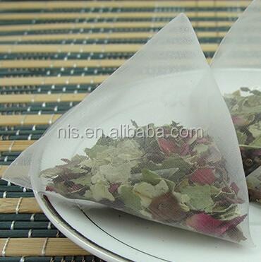 OEM Pyramid teabag with private label four corner nylon teabags - 4uTea | 4uTea.com