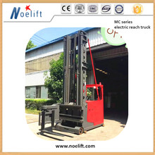 Battery Three-Way Pallet Stacker Electric Forklift Truck 1T 7.5M 3way stacker