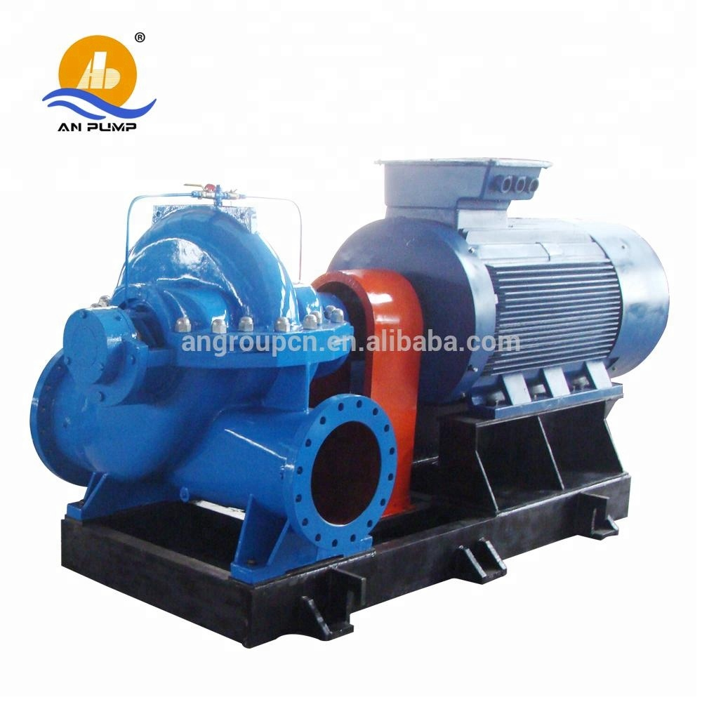 QS high volume water pump large 100HP centrifugal pumping unit
