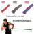2080mm Fitness Loop Resistance Bands | 100% Natural Latex Bands Train Set With High Quality