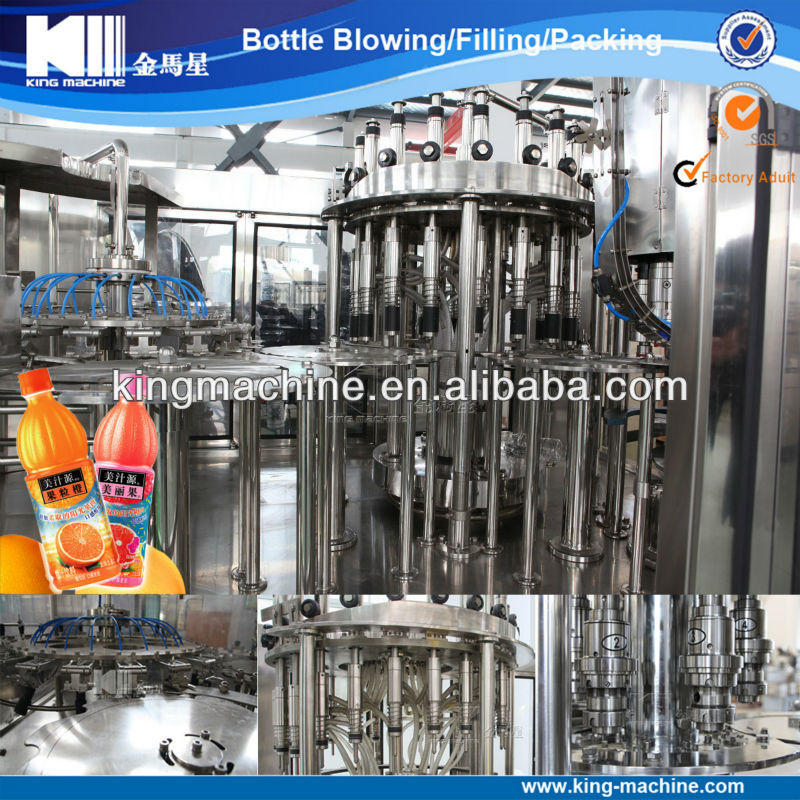 Automatic Fruit Juice Packaging Machine / Machinery / Equipment