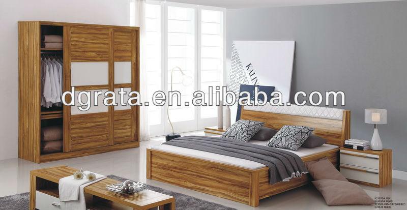 Dernires meubles de chambre coucher en e mdf pour with for Meuble karray
