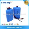 3.7V li-ion 18650 battery pack 5200mAh for electric motorcycle battery