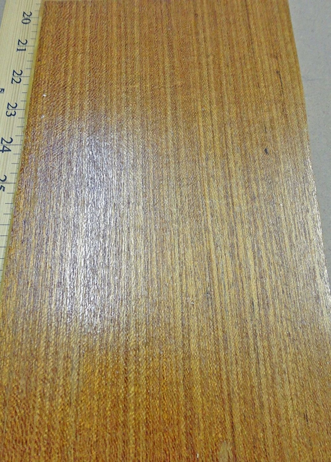 "Teak composite Quarter Cut wood veneer 24/"" x 24/"" on paper backer 1//40th/"" thick"