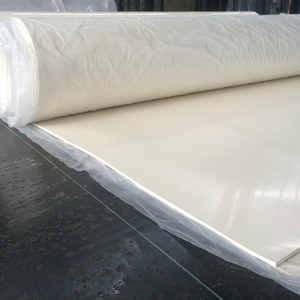 NBR SBR CR neoprene white rubber sheet