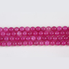 Pink Gemstone Beads Strands For Bracelet Necklace Jewelry