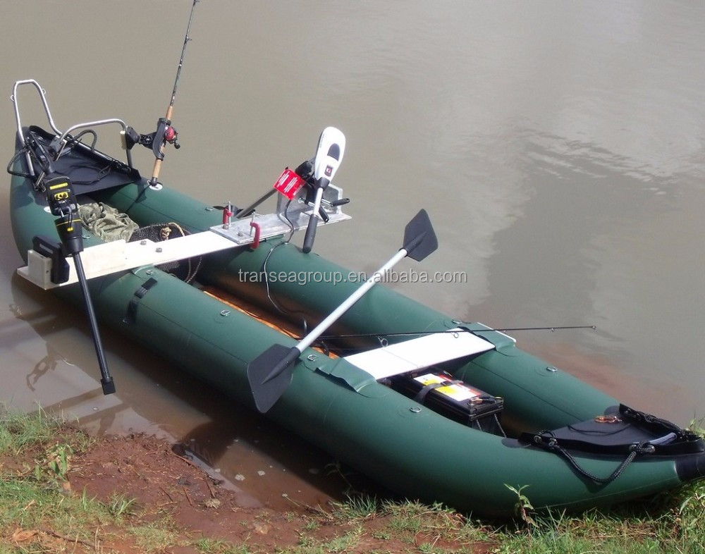 Ce certificate inflatable fishing canoe kayak for sale for Fishing kayak sale