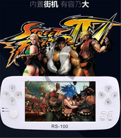 Free to Play SNK CAPCOM Arcade game console handheld game player 4.3 inch for CPS NEOGEO SNES SFC SEGA 8/16/32 bits video games.