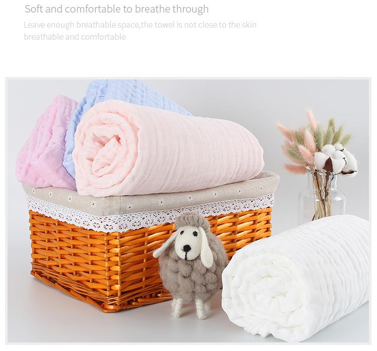 Super-absorbent ผ้าเช็ดตัวเด็กผ้าขนหนูนุ่มและสบาย