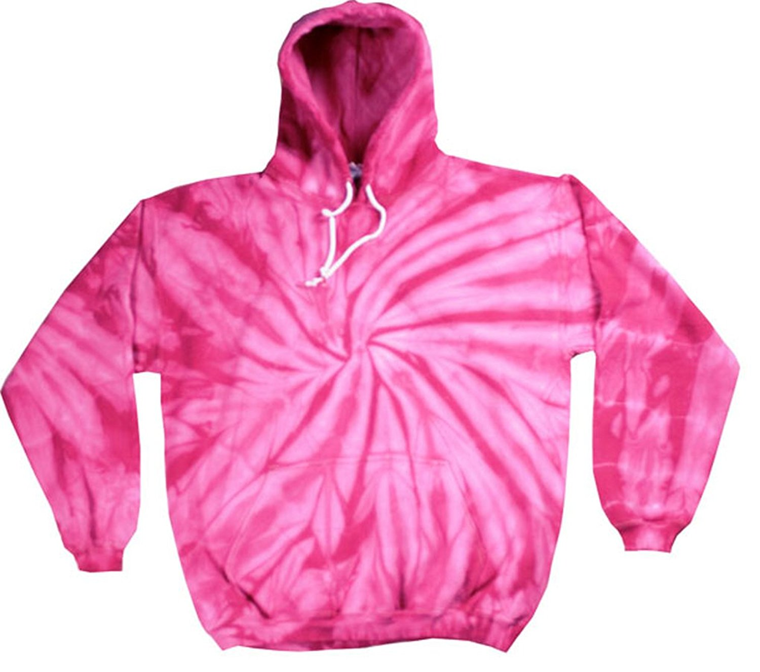 fa3e9225619 Get Quotations · Buy Cool Shirts Kids Tie Dye Pullover Spider Pink Hoodie