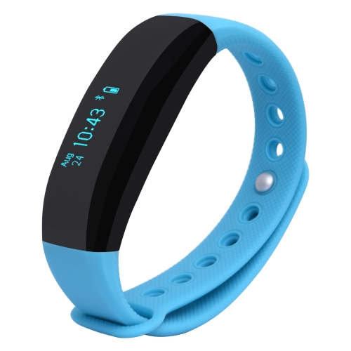 CUBOT V2 ouch Screen Heart Rate Bluetooth Anti-lost / Message Push / Pedometer / Sleep Monitor(Blue)