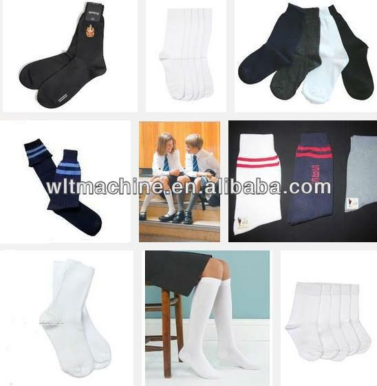 WLT-6F828 school socks machine for boys