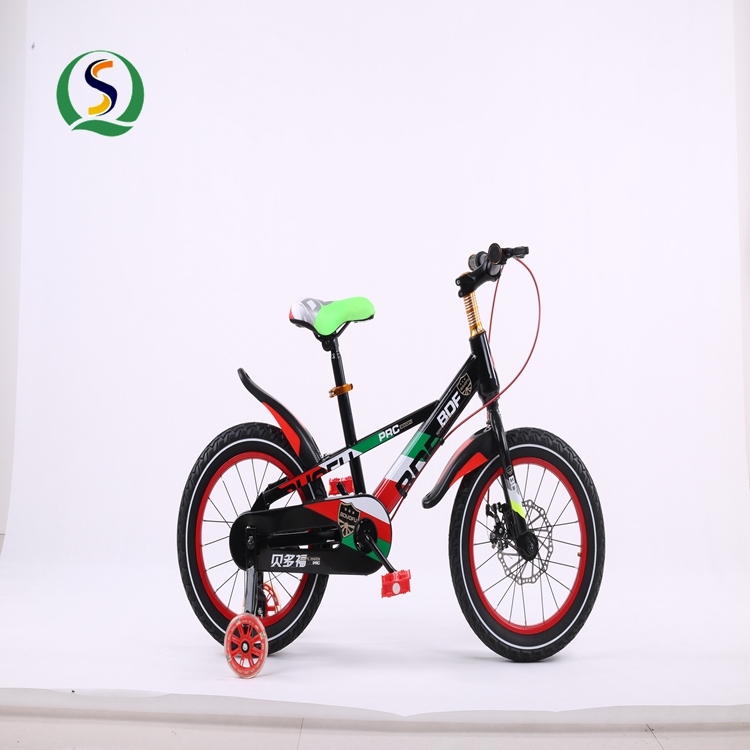 bulk supply child small bicycle /kid 4 wheel bike for training /16 inch 4 wheel kids bike bicycle