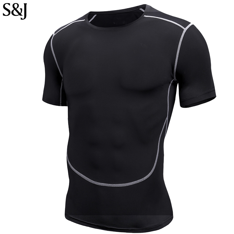 Bodybuilding Muscle Formation Gym Manches Courtes T Shirt pour homme