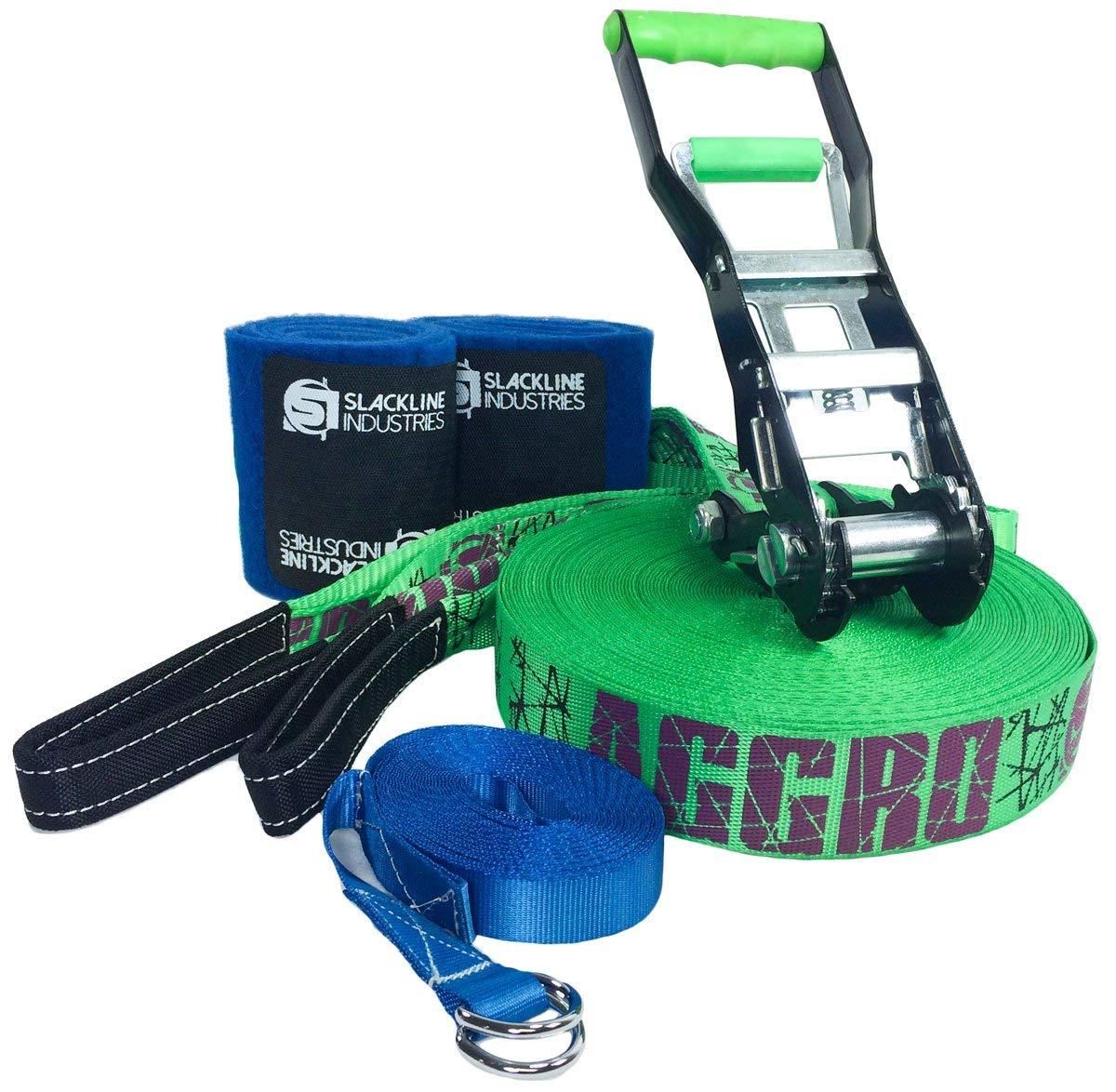 Slackline Industries Aggro Line Performance Trickline Kit