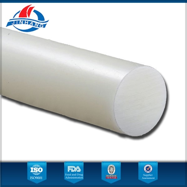 100% virgin material hdpe plastic rod bar China factory