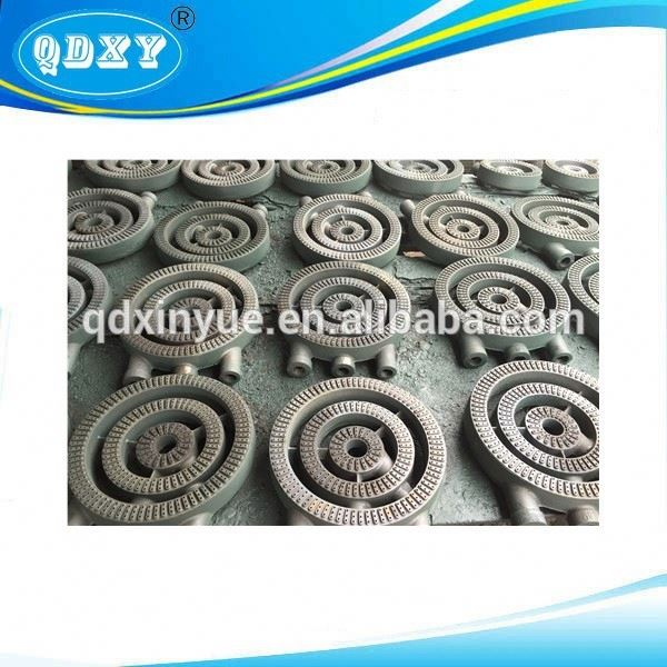 High Pressure 3 Ring Gas Stove Cast Iron BBQ Burner Part