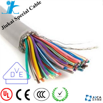 Ul2464 4cores 22awg Twisted Pair Al-foil And Drain Wire Shielded ...