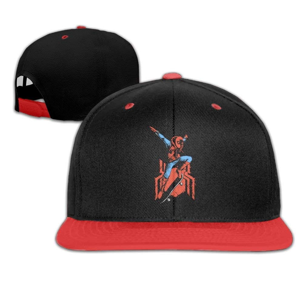 Get Quotations · Shing Kids child Travelling Spidey Skate Spiderman  Homecoming Caps Hats Adjustable 33fc1161524