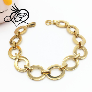 Trendy high quality stainless steel dubai gold jewelry bracelet designs 967cd419c2
