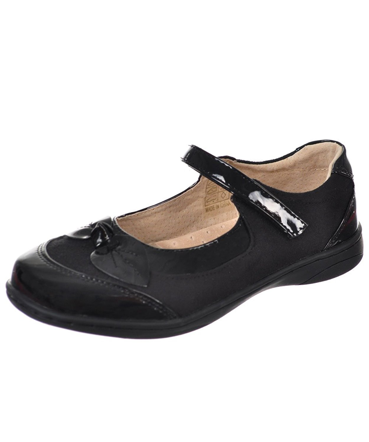 Easy Strider Girls'Patent Bow Mary Janes